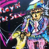 Playin the Sax